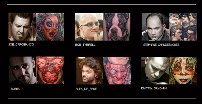 Worldwide Tattoo Conference Artists